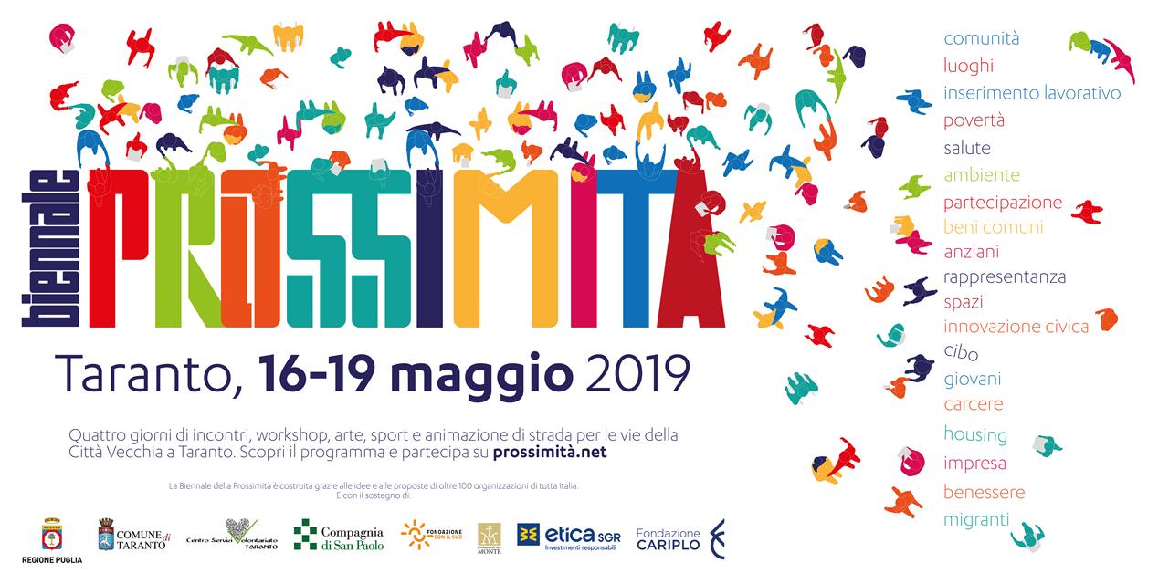Biennale Della Prossimita 2019 Idee In Rete Consorzio Nazionale